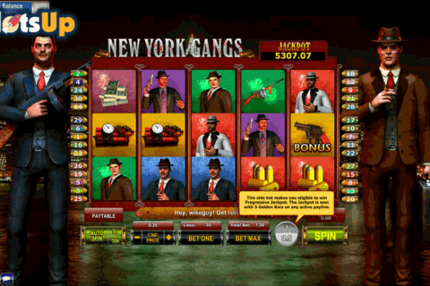 NEW YORK GANGS GAMESOS CASINO SLOTS