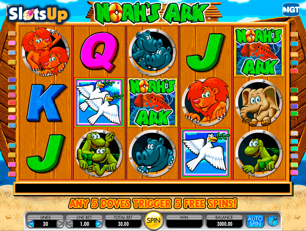 Noahs Ark Slot Machine Online ᐈ IGT™ Casino Slots