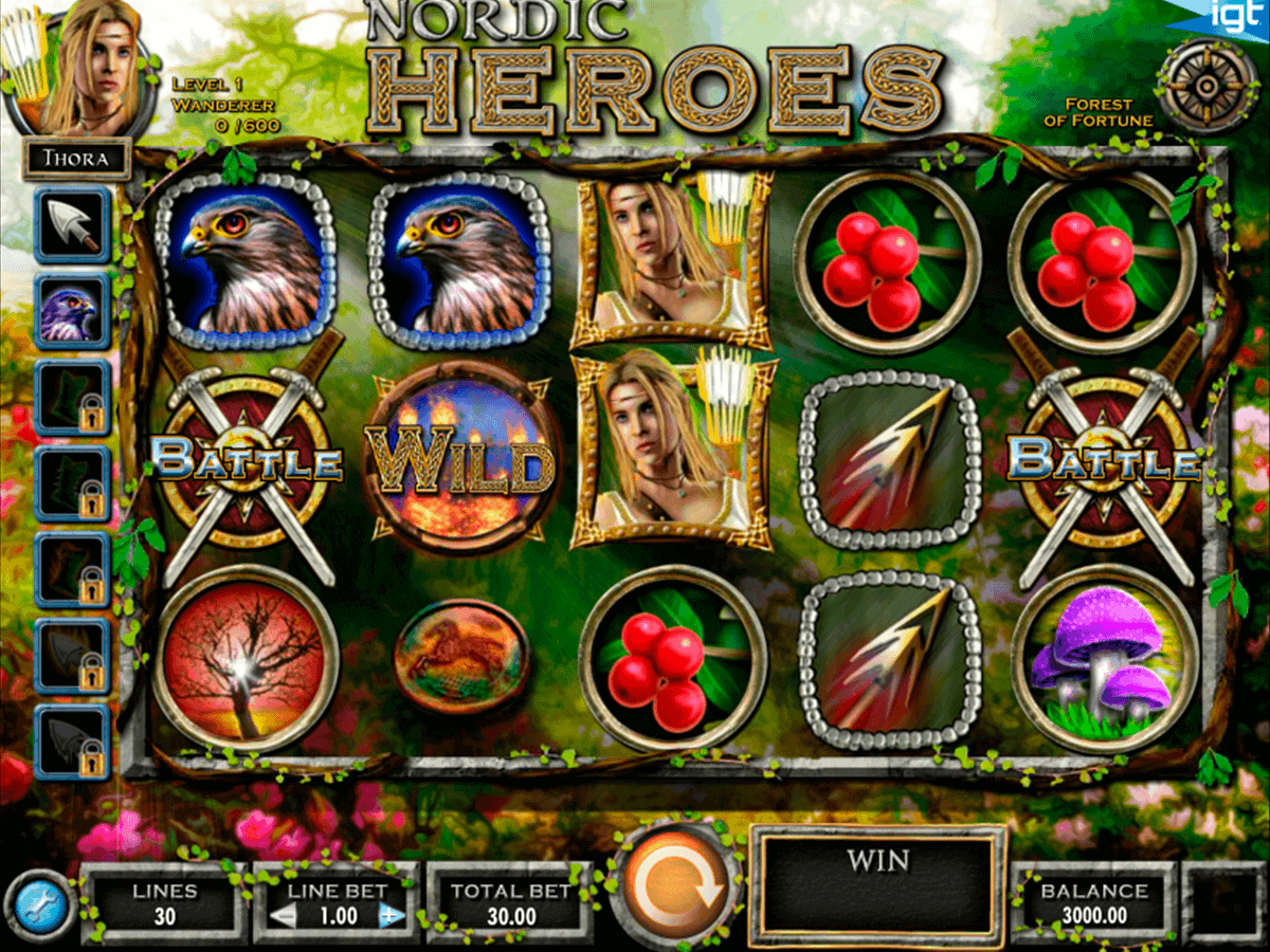 Nordic Heroes Online Slot Machine for Real Money-Rizk Casino