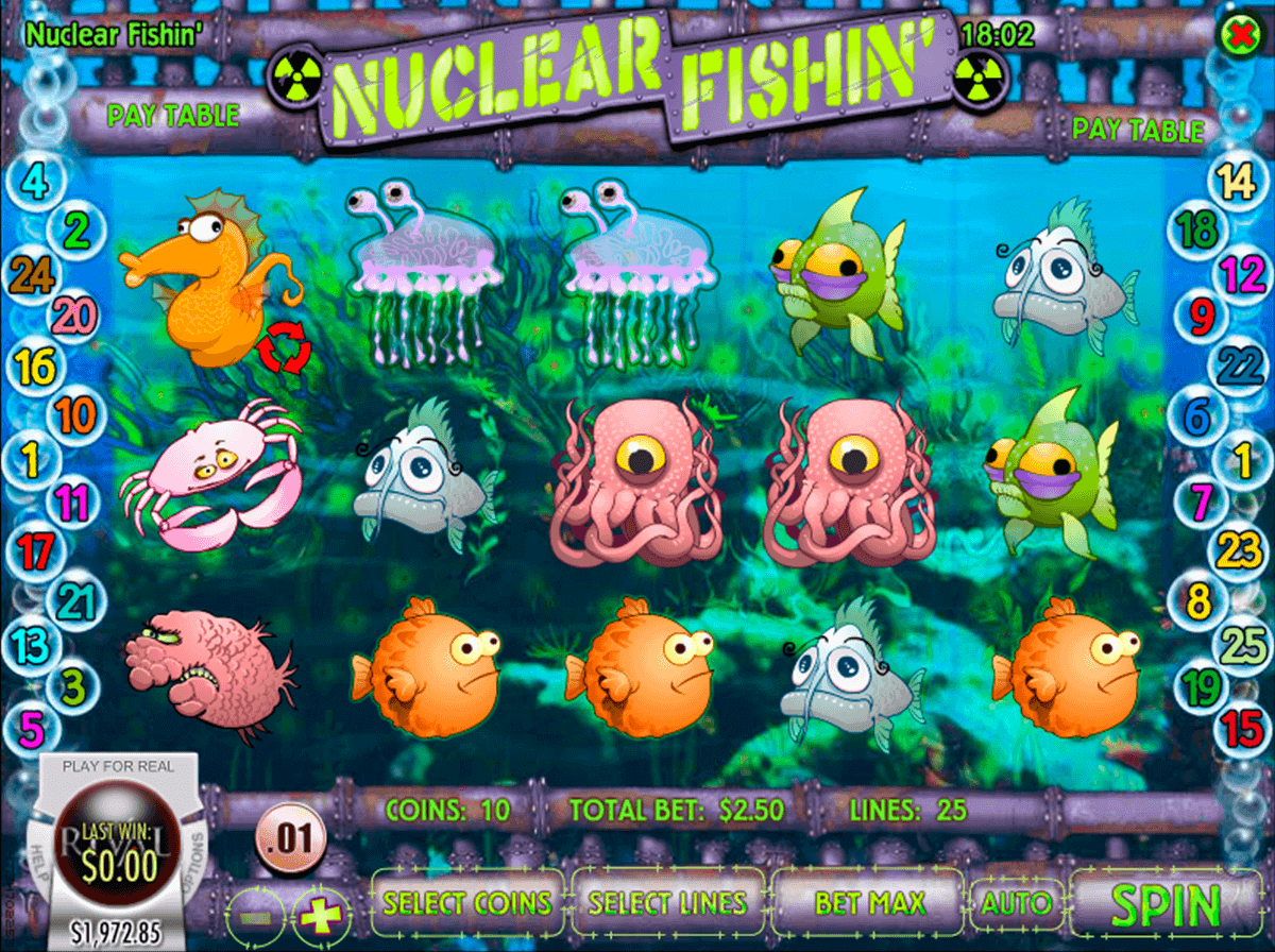 Nuclear Fishin Slot Machine Online ᐈ Rival™ Casino Slots