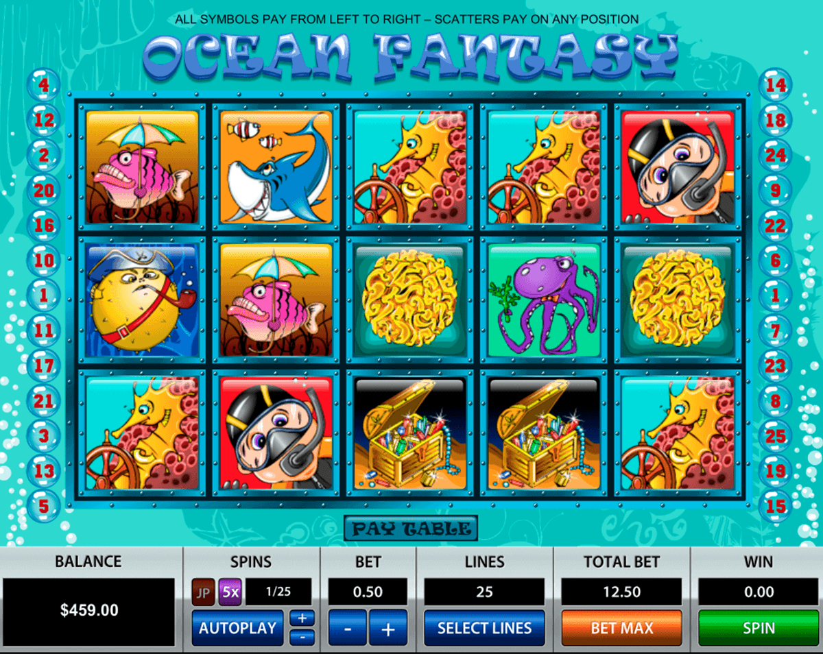 Ocean Slots - Play Free Online Slot Machines in Ocean Theme -