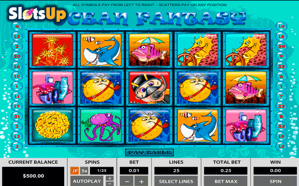 video slots free online ocean online games