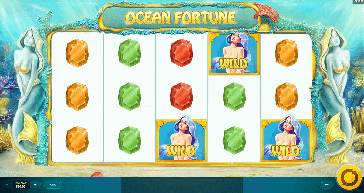 OCEAN FORTUNE RED TIGER CASINO SLOTS