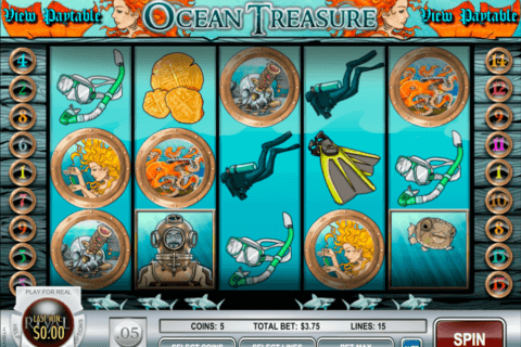 OCEAN TREASURE RIVAL CASINO SLOTS