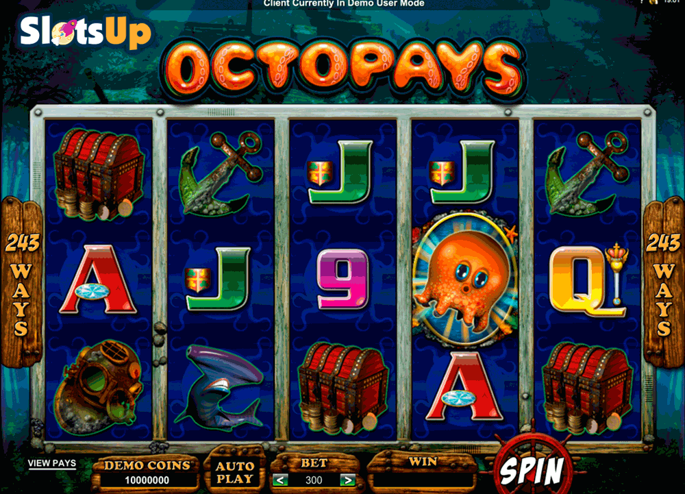 Octopays™ Slot Machine Game to Play Free in Microgamings Online Casinos
