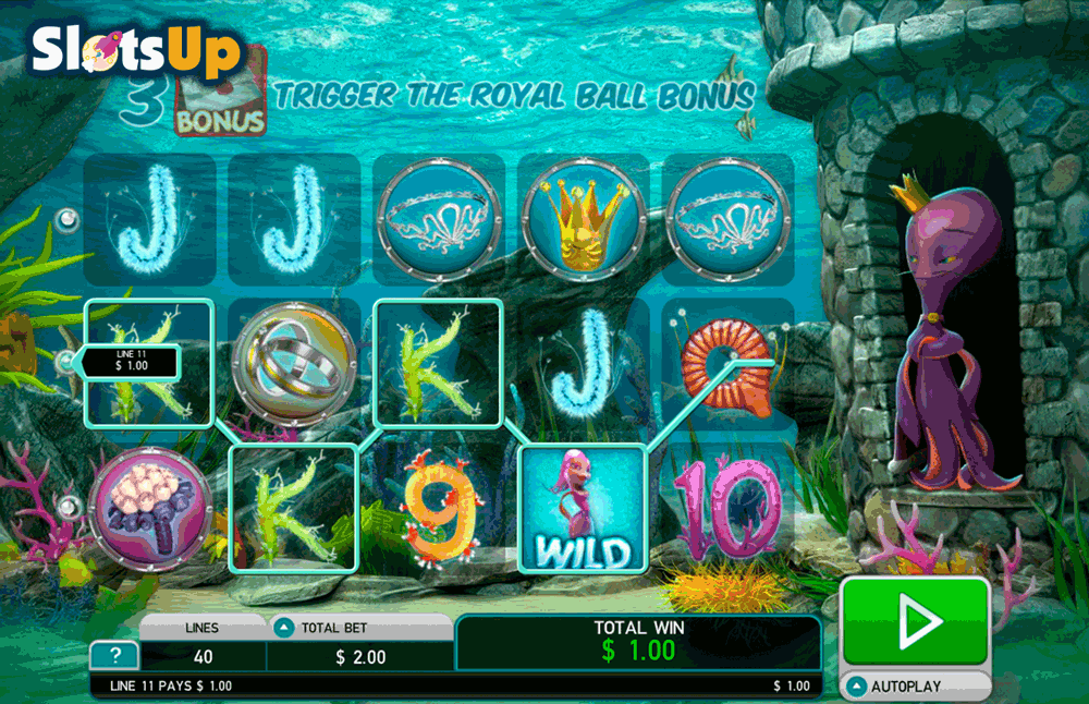 Octopus Kingdom Slot Machine - Play Online for Free