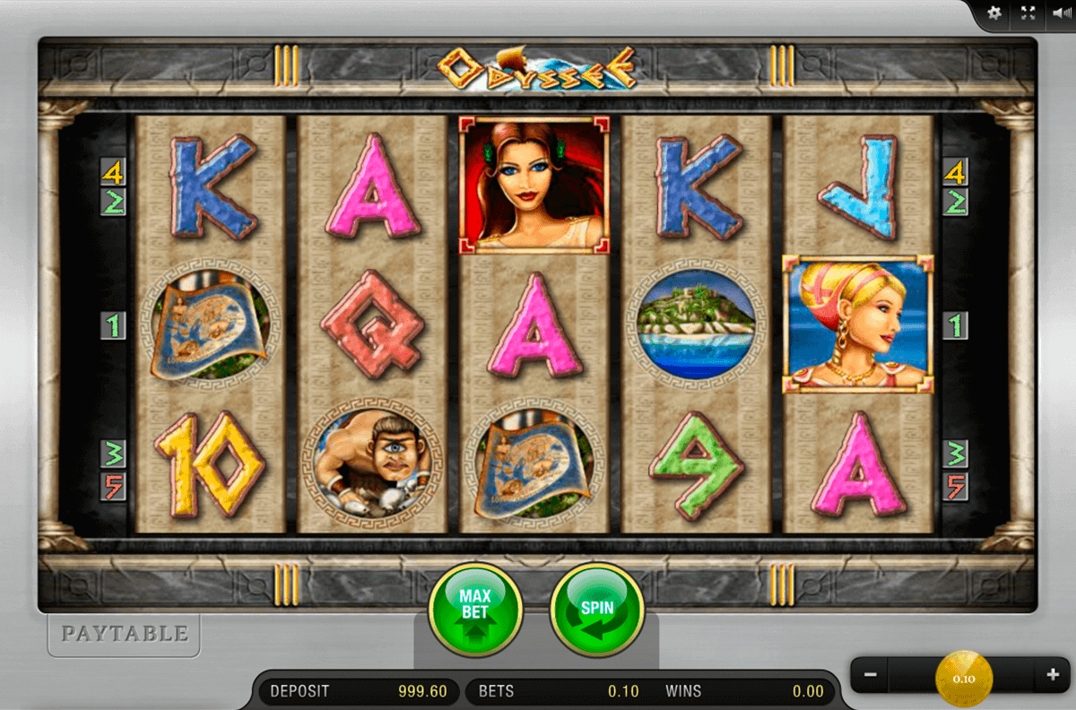 Odysseus™ Slot Machine Game to Play Free in Playsons Online Casinos