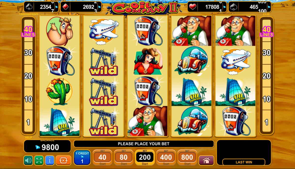 oil company slot free