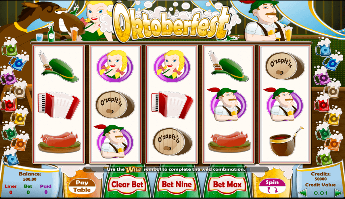 Oktoberfest Beer Bash Slot - Play Free Casino Slots Online