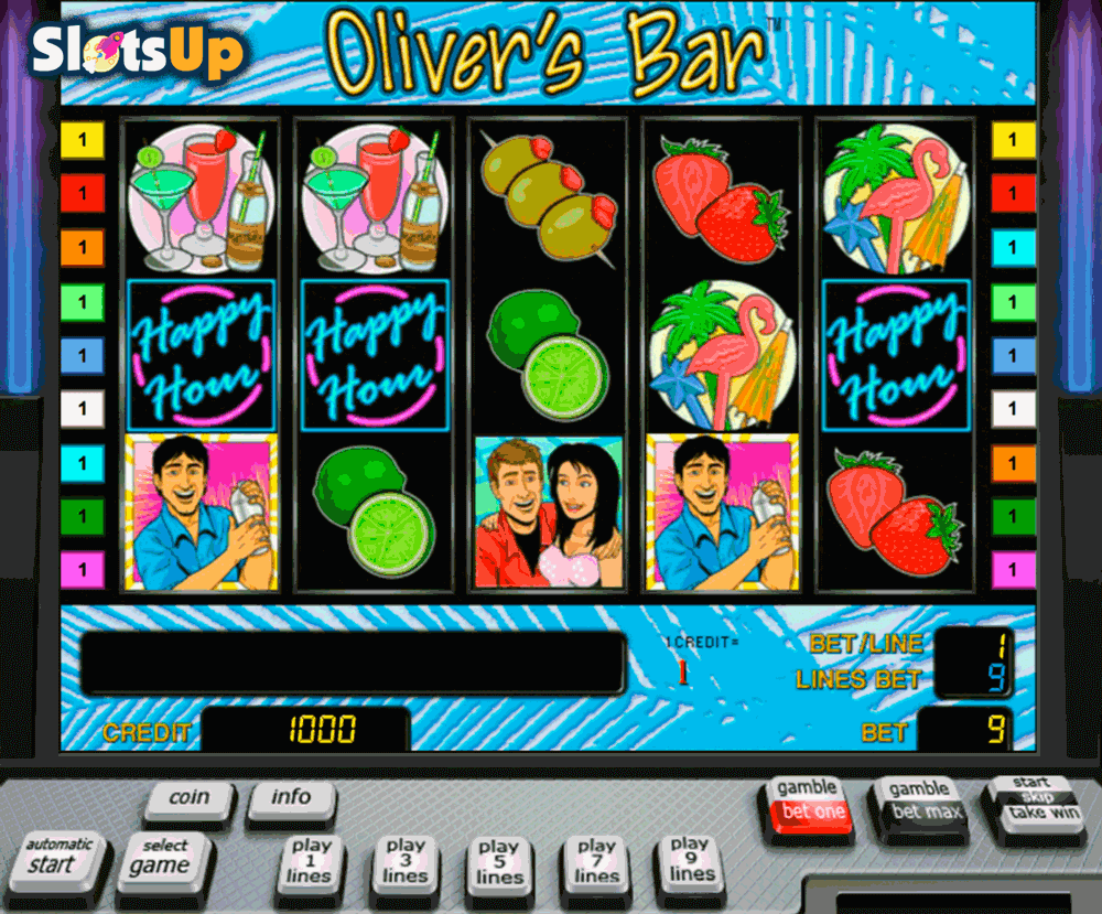 OLIVERS BAR NOVOMATIC CASINO SLOTS