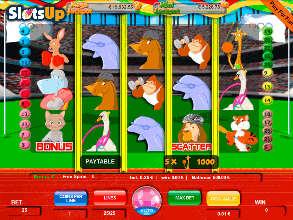 olympic animals portomaso casino slots