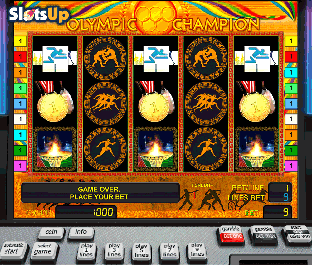 olympic champion novomatic casino slots
