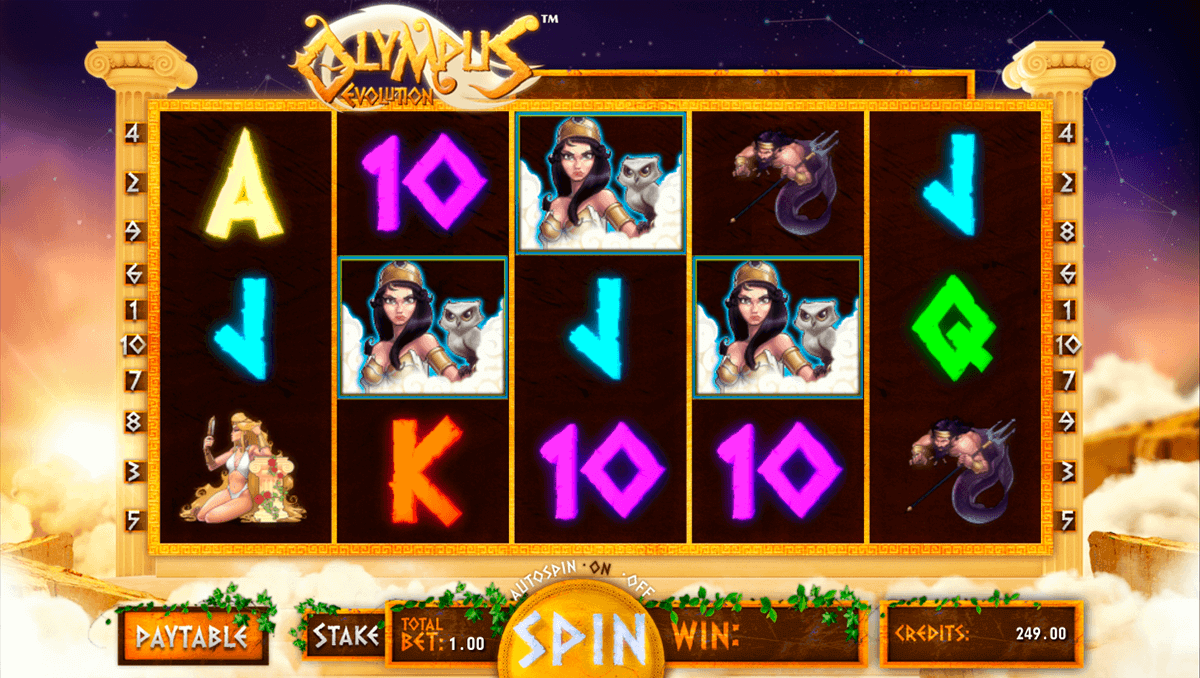 OLYMPUS EVOLUTION GAMING1 CASINO SLOTS