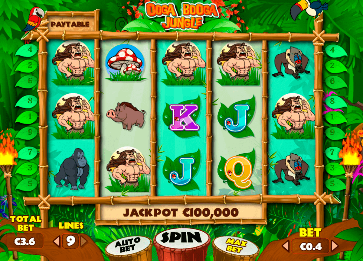 Ooga Booga Jungle Slots - Play for Free & Win for Real