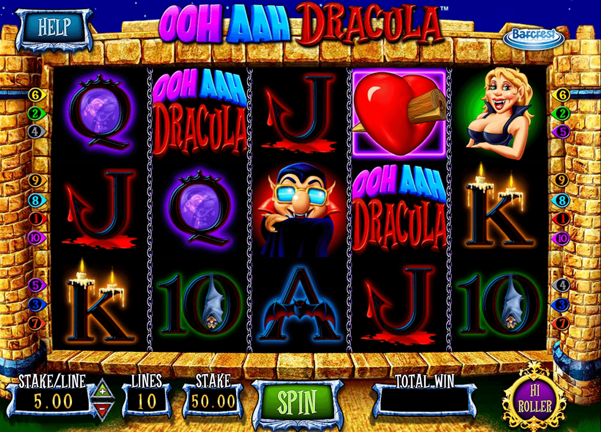Ooh Aah Dracula Slot Machine Review & Free Online Demo Game