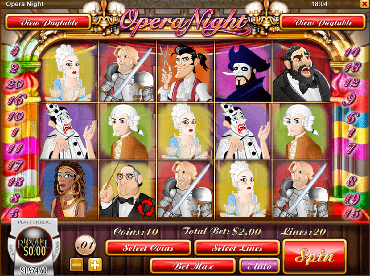 opera night rival casino slots