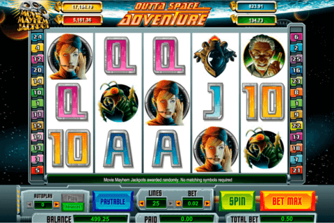 OUTTA SPACE ADVENTURES AMAYA CASINO SLOTS