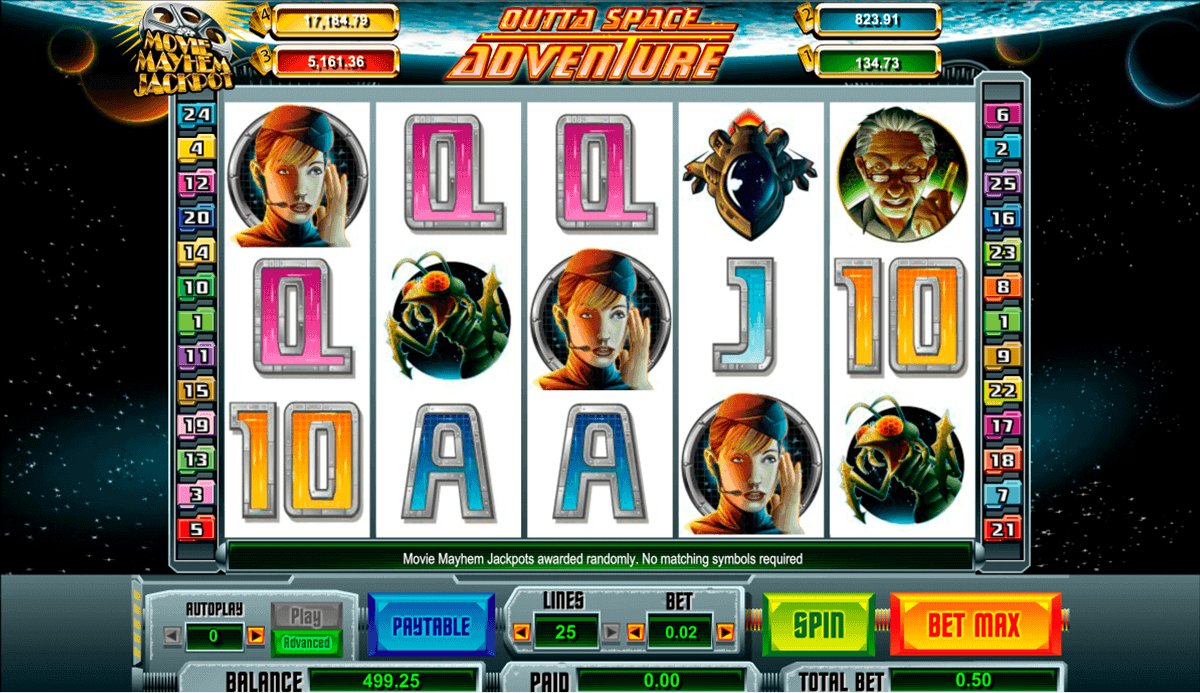 Outta Space Slot Machine Online ᐈ Pariplay™ Casino Slots