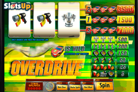 OVERDRIVE 3 REEL SAUCIFY CASINO SLOTS