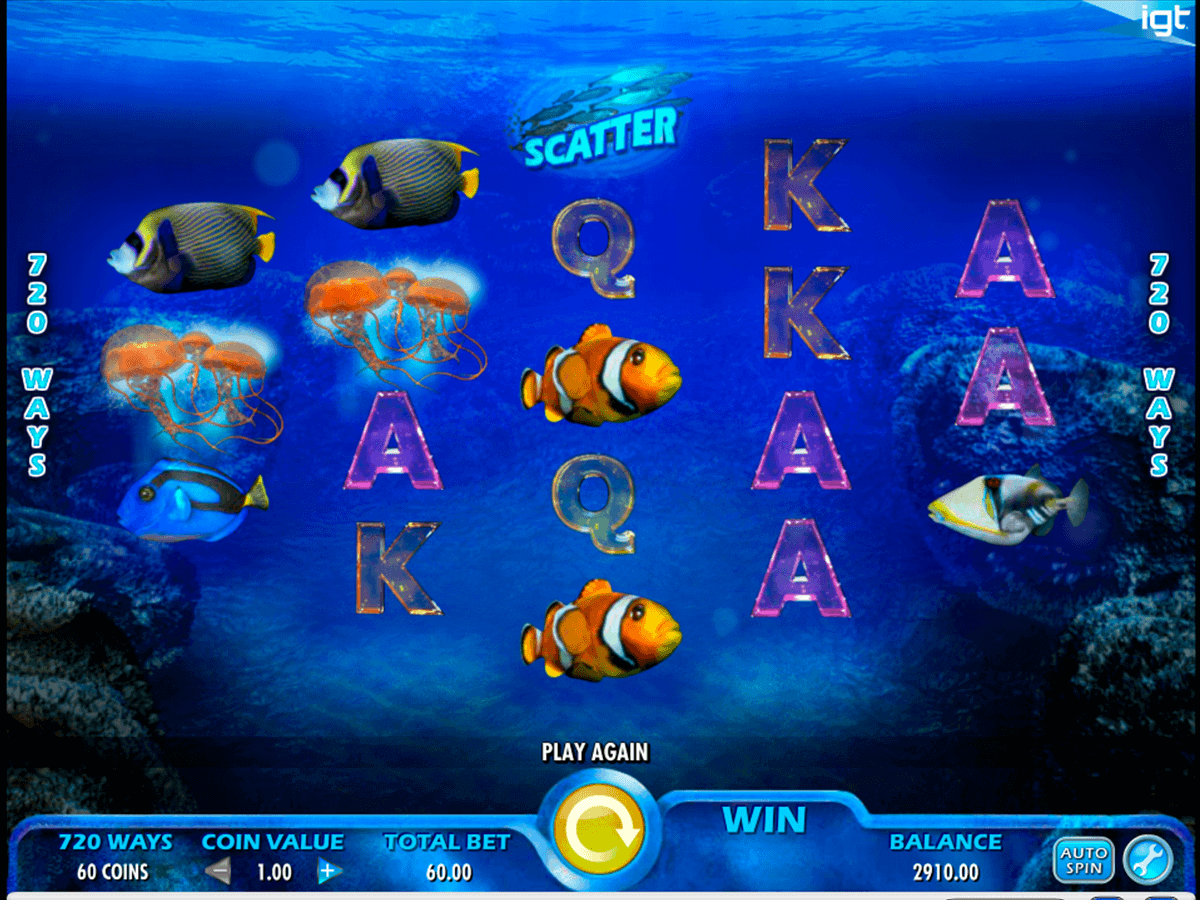PACIFIC PARADISE IGT CASINO SLOTS