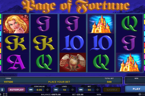 page of fortune deluxe zeus play