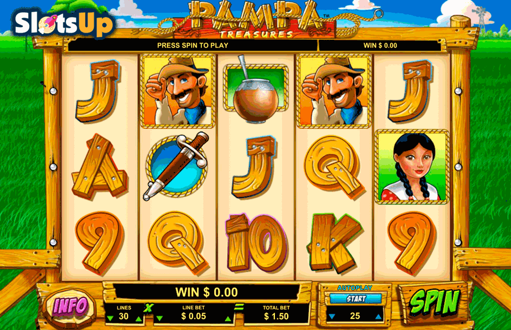 pampa treasures leander casino slots
