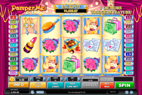 pamper me habanero slot machine