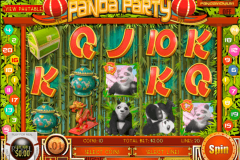 PANDA PARTY RIVAL CASINO SLOTS