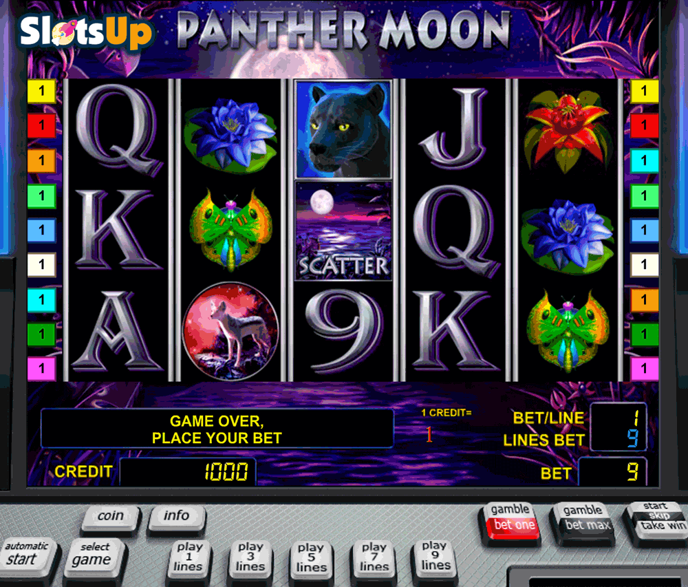 Play Panther Moon Slots Online