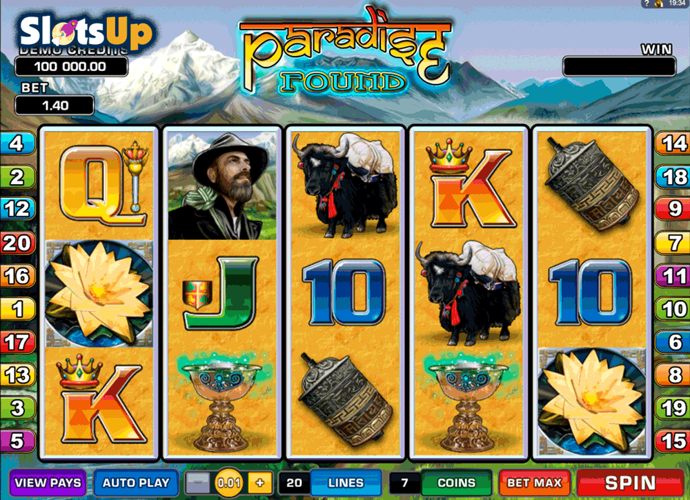 PARADISE FOUND MICROGAMING CASINO SLOTS