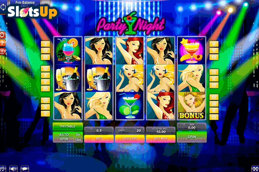Vegas Nights Slot Machine - Play Online for Free Money