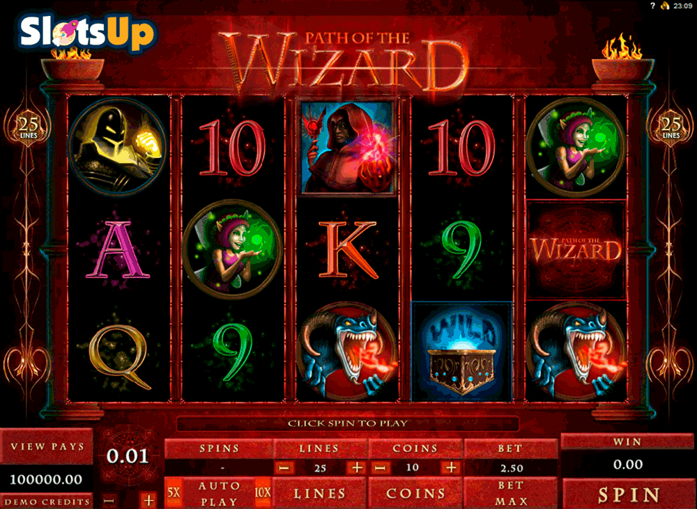 free online casino slots the gaming wizard