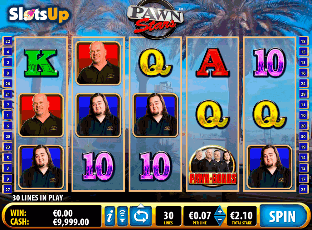 PAWN STARS BALLY CASINO SLOTS