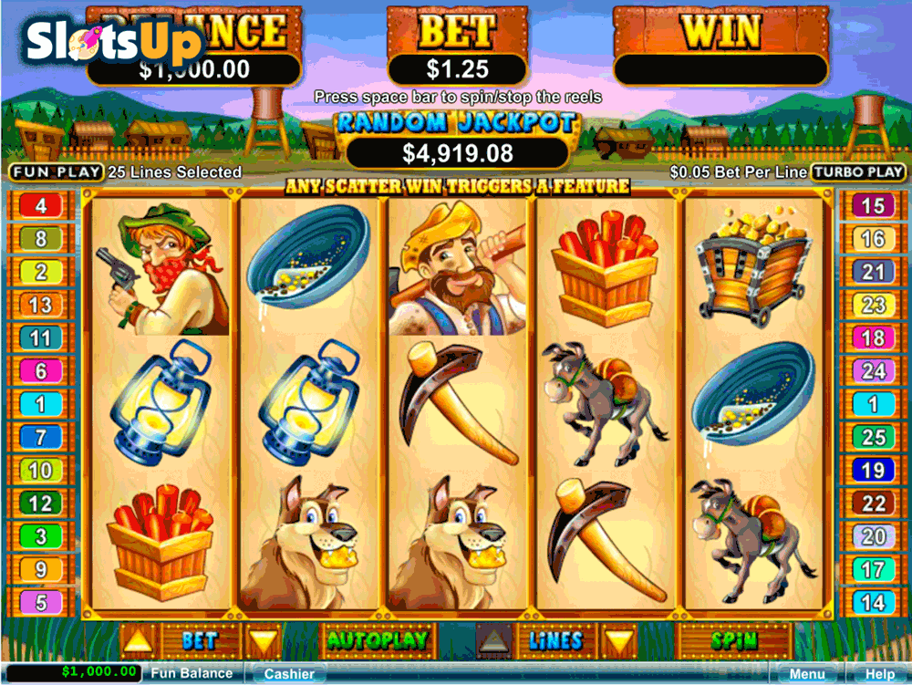 PAY DIRT RTG CASINO SLOTS