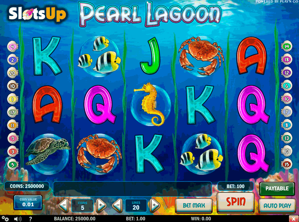 Underwater World Slot Machine - Play Online or on Mobile Now