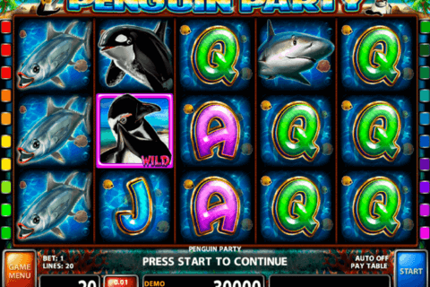 penguin party casino technology slot machine