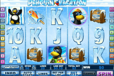 penguin vacation playtech casino slots