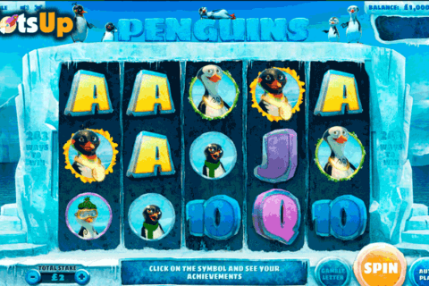 penguins cayetano casino slots 480x320
