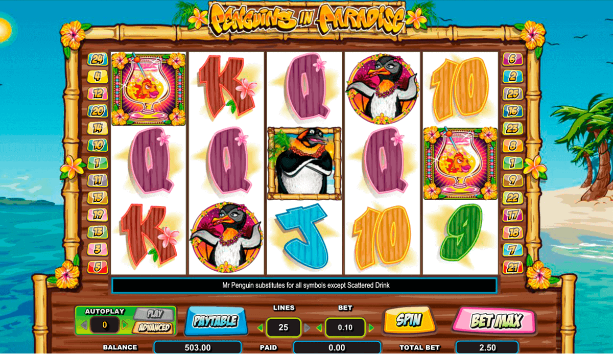Penguins Slot Machine Online ᐈ Cayetano Gaming™ Casino Slots