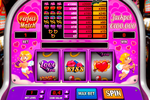 PERFECT MATCH PARIPLAY SLOT MACHINE