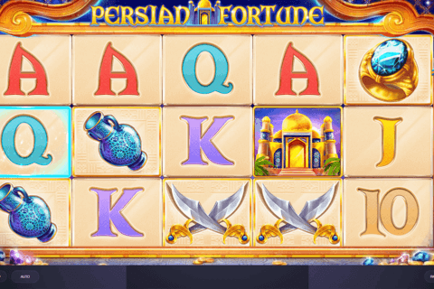 PERSIAN FORTUNE RED TIGER CASINO SLOTS
