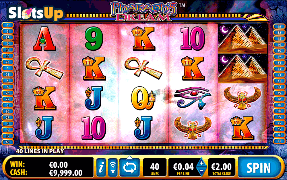 PHARAOHS DREAM BALLY CASINO SLOTS