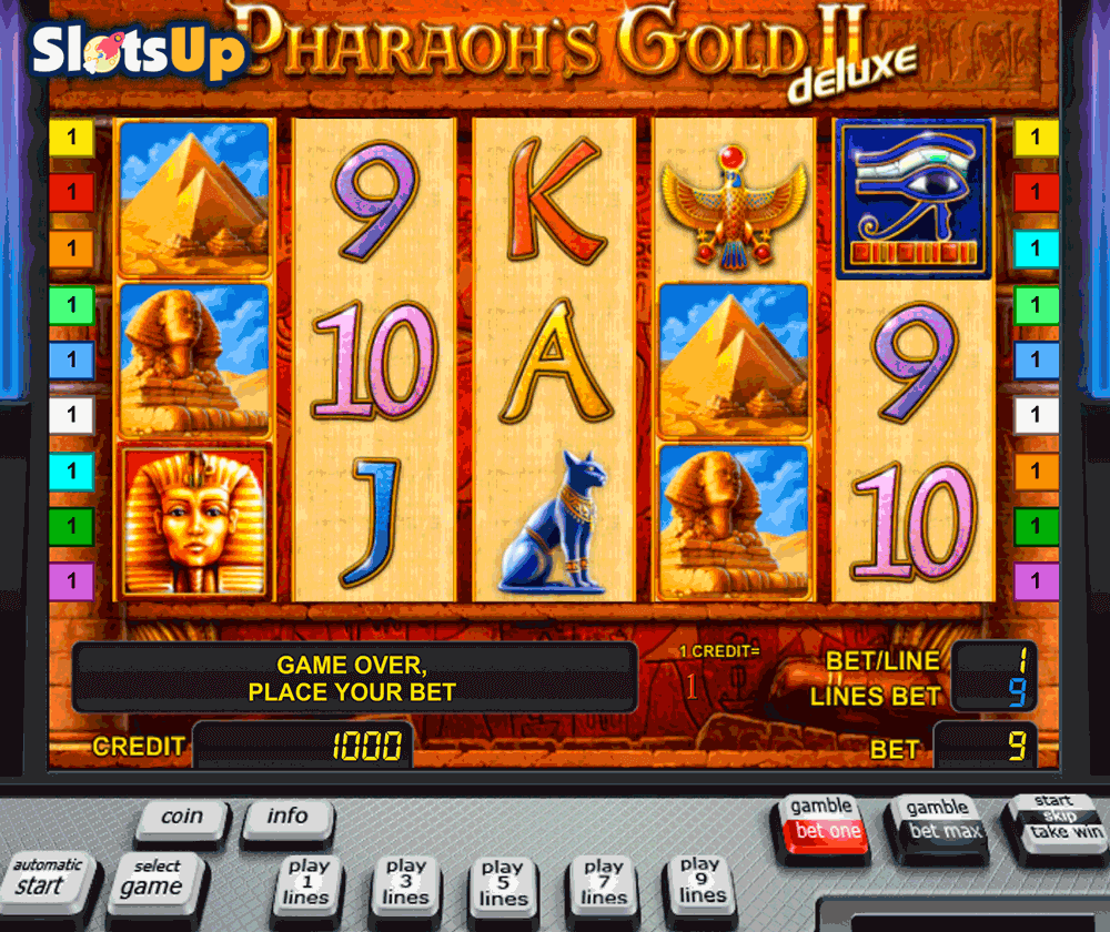 Pharaoh's Gold Slot Machine - Review and Free Online Game
