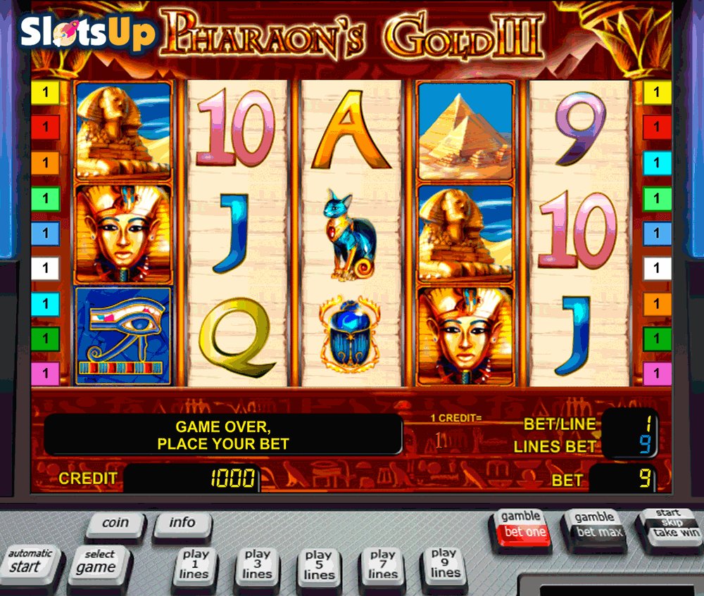 PHARAOHS GOLD III NOVOMATIC CASINO SLOTS