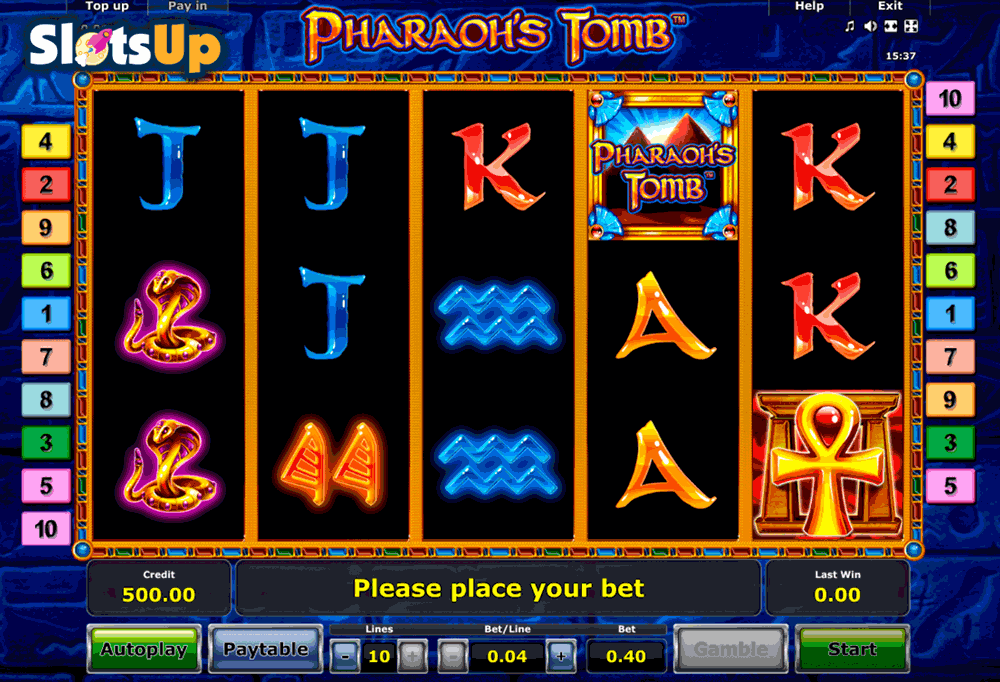 casino games free online pharaoh s