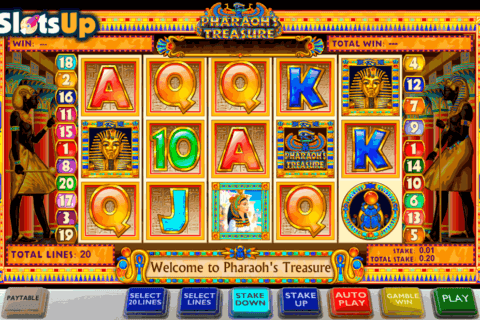 PHARAOHS TREASURE ASH GAMING CASINO SLOTS