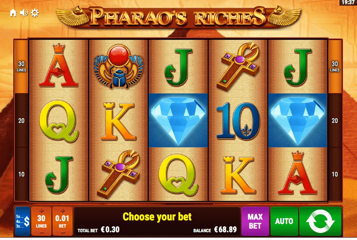 Pharaos Riches Slot Machine Online ᐈ Bally Wulff™ Casino Slots