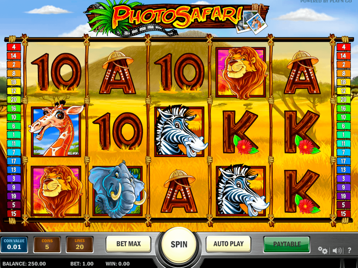 Big Game Safari Slots - Play the Free Casino Game Online