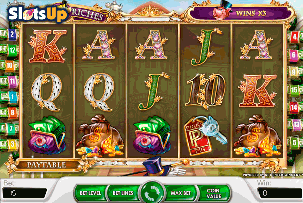 Piggy Riches™ Slot Machine Game to Play Free in NetEnts Online Casinos