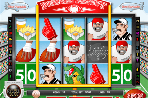 pigskin payout rival casino slots